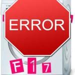 Код ошибки f17: стиральная машина Бош. Причины