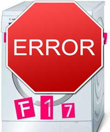 ошибка_Bosch__cod--f17