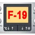 Код ошибки f19: стиральная машина Бош. Причины