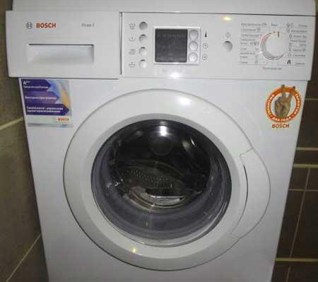 ошибка стиральной машины bosch f02