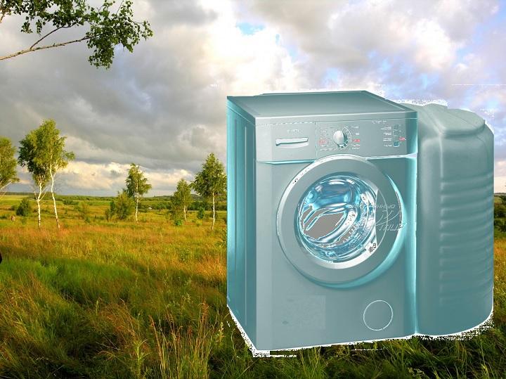 Машина-автомат с баком для воды