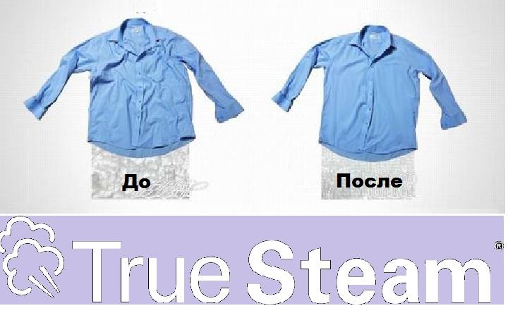 Рубашка после парообработки
