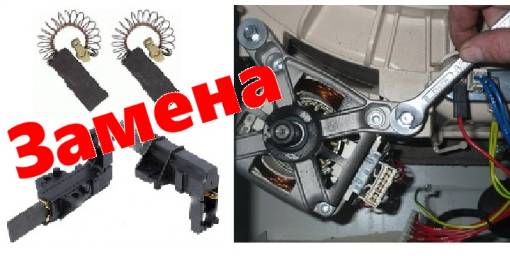 Щетки и мотор