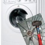 Как разобрать стиральную машину Indesit своими руками