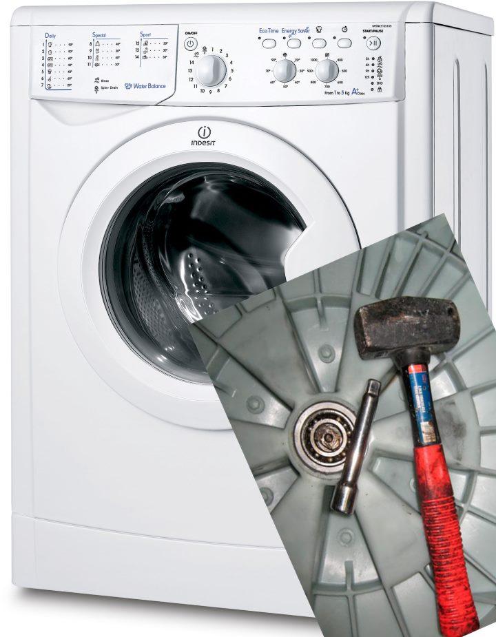Разбираем стиральную машину Индезит