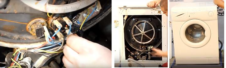 Ремонт стиральных машин замена тэна своими руками 82