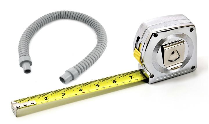 Измерение длины рулеткой