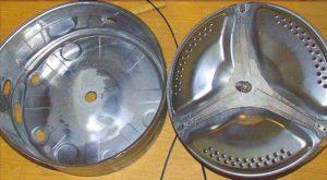 Бак стиральной машинки из нержавеющей стали