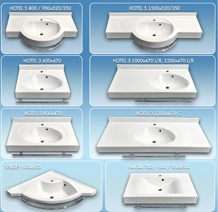 8 видов раковин над стиральной машиной