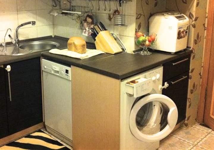 Очень мало места в кухне