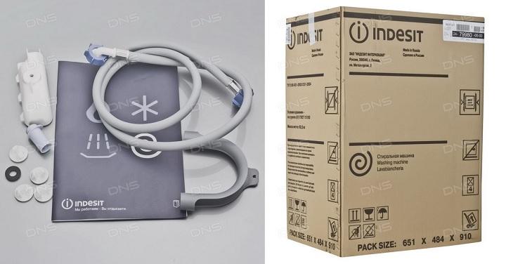 Комплектация и упаковка Индезит 105