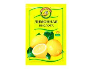 Лимонная кислота для чистки сливного шланга