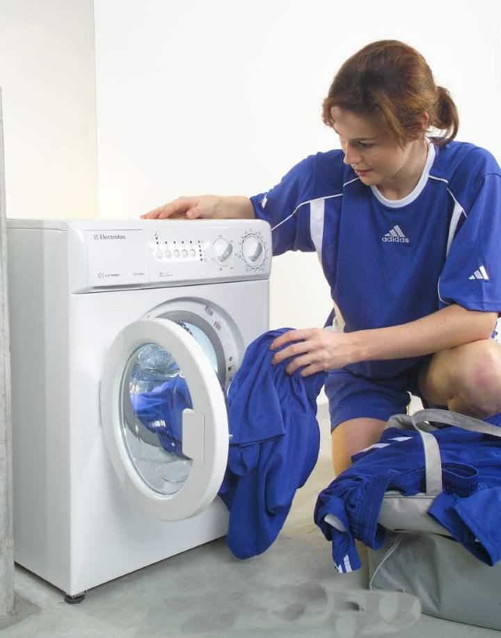 Малышка стиральная машинка