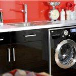 Как встроить стиральную машинку под столешницу на кухне- инструкция