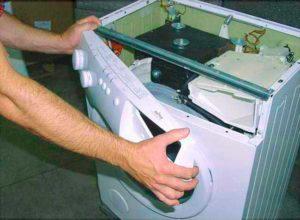 Механическая чистка стиральной машины