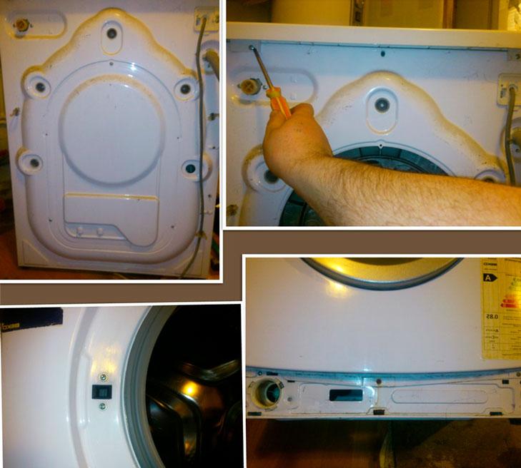 Что делать, если стиральная машина наполняет и сливает воду