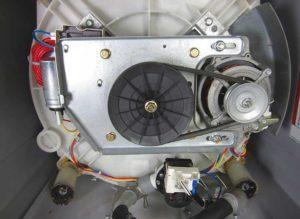 Неисправность двигателя стиральной машины