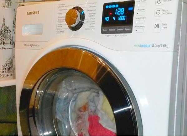 Не открывается люк стиральной машины