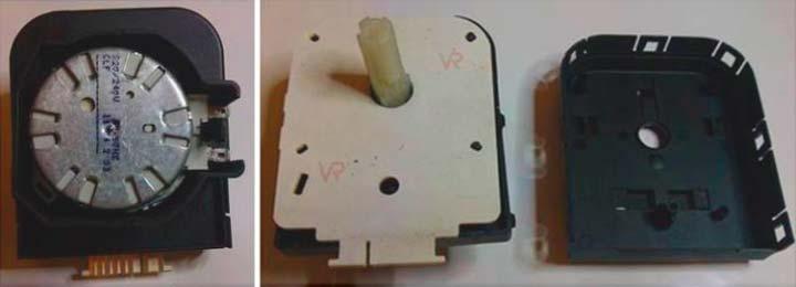 Открываем программатор стиральной машины