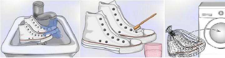Как подготовить обувь к стирке