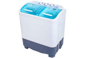 Полуавтоматическая стиральная машинка с прозрачной крышкой