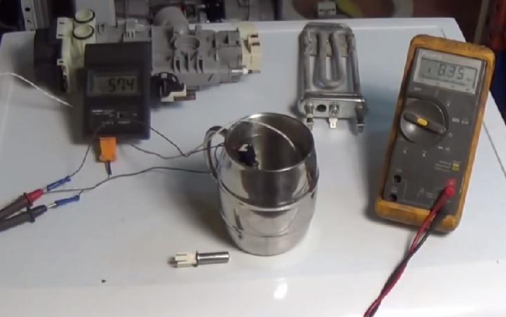 Проверяем термодатчик мультиметром