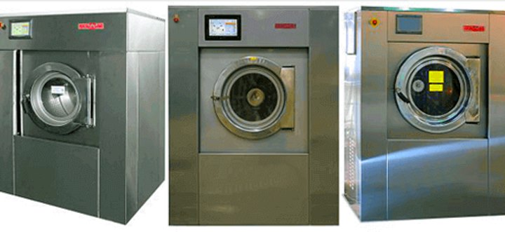 Машинка для промышленных целей с сушкой
