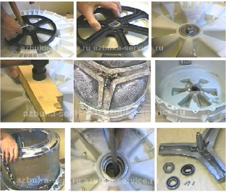 Ремонт бака стиральной машины своими руками
