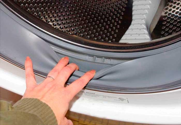 Уплотнительная резина в стиральной машине