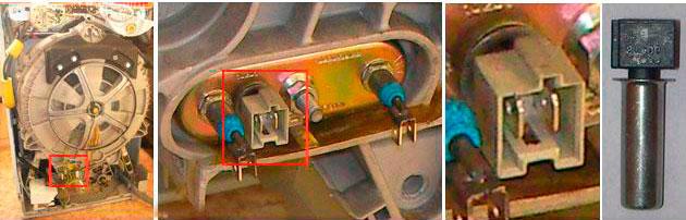 Термистор стиралньной машины