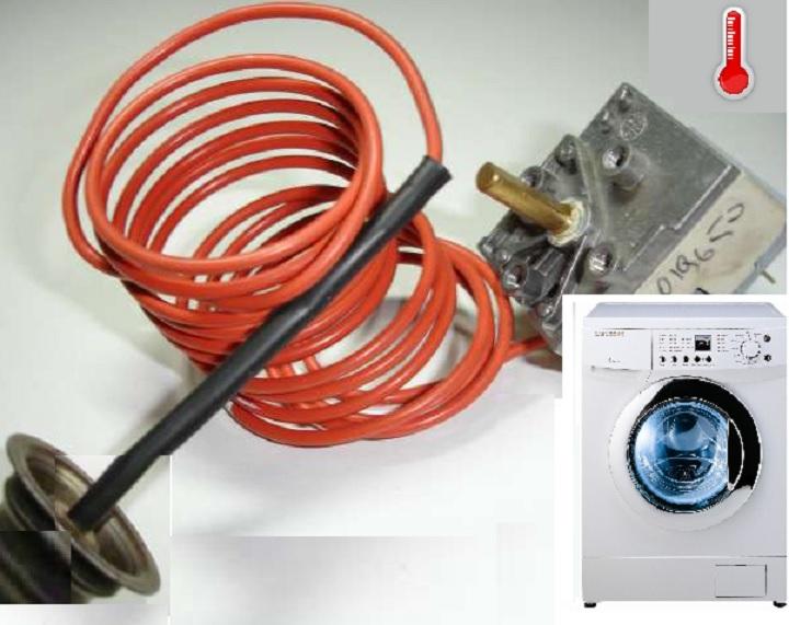 Термодатчик с красным подводом