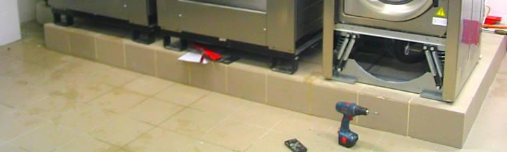 Образец фундамента под стиральные машины