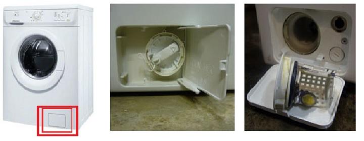 Где находится фильтр стиральной машине
