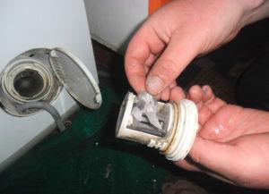 Чистка крыльчатки и фильтра стиральной машины