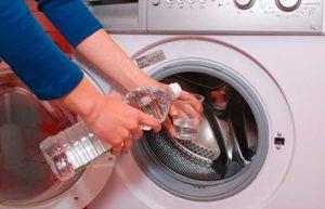 Чистка стиральной машины уксусной кислотой