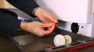 Чистка фильтра слива стиральной машины
