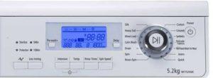 Электронное управление стиральной машины