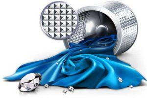 Особая конструкция барабана на стиральной машинке самсунг