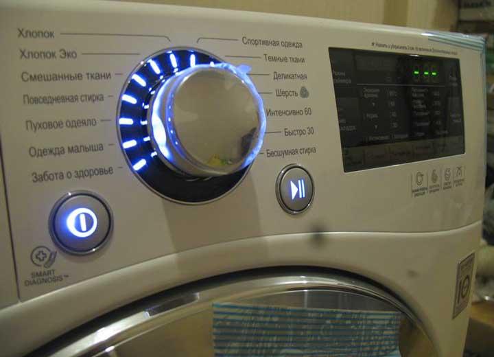 Панель стиралки LG