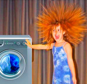 Стиральная машина бьет током