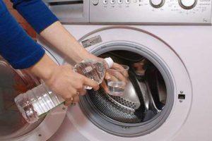 Промываем стиралку уксусом