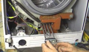 Снимаем и меняем тэн со стиральной машины