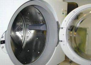 Загрузочный люк стиральной машины с уплотнением