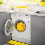 Встраиваемая стиральная машина: преимущества и недостатки, какую выбрать
