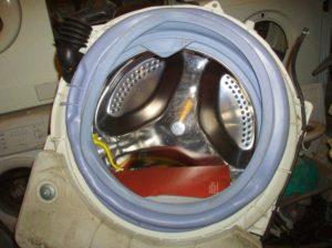 Пластиковый бак стиральной машины