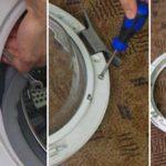 Ремонт дверцы стиральной машины своими руками: советы по ремонту