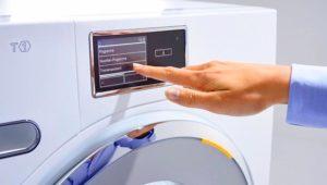 Сенсорное управление стиральной машины