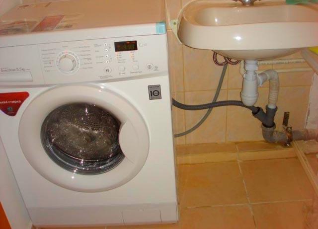 Установка новой стиральной машины