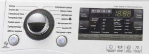 Электронное управление стиралки
