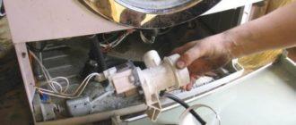 Проверяем крыльчатку насоса стиральной машины